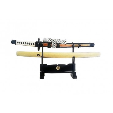 Double Sword Stand Jin-Dachi (Black)