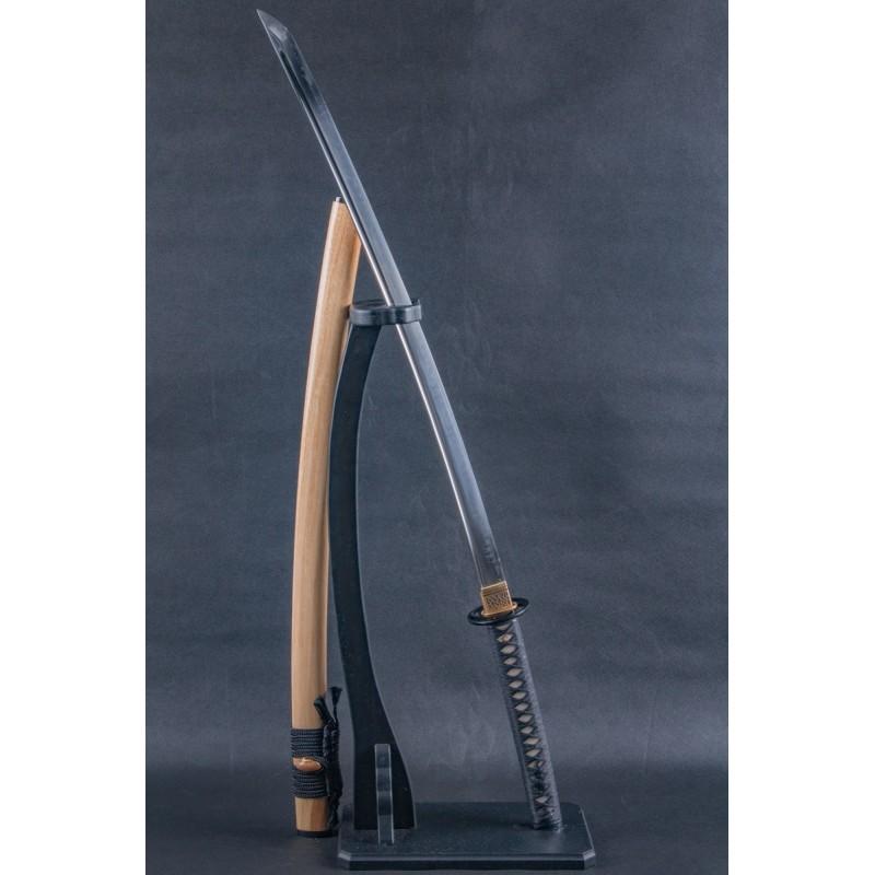 Bamboo Saya Katana (Handforge Clay Tempered)
