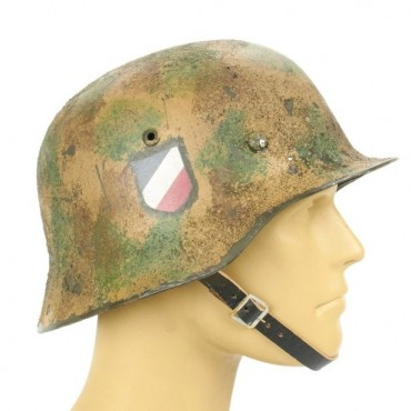 German WWII Reproduction M35 Luftwaffe Afrikakorps Italian FLAK 88 Helmet