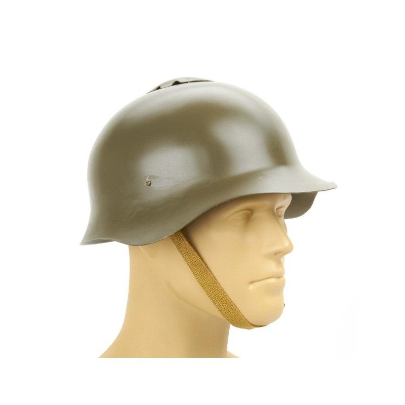 Russian WWII Soviet M36 SSh-36 Steel Combat Helmet