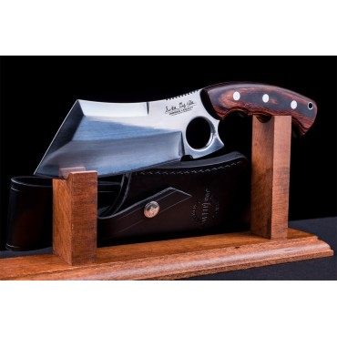 Gil Hibben Cleaver Blood Wood Version