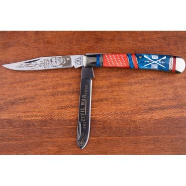 Kissing Crane Ulysses S Grant Trapper Pocket Knife