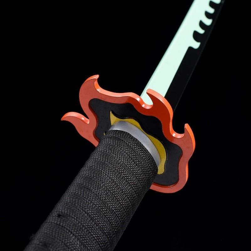 Demon Slayer - Kimetsu no Yaiba Kamado Tanjirou's Sword with Kyojuro Guard