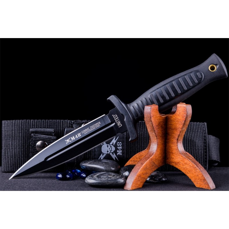 M48 Combat Toothpick Knife with Shoulder Harness