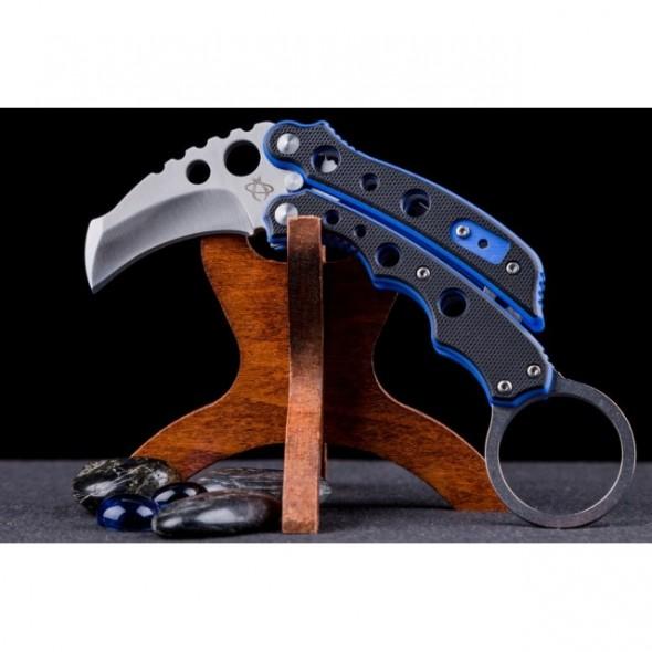Mantis Knives Vuja De Karambit Blue