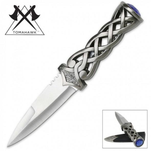 Twisted Steel Scottish Dirk Knife