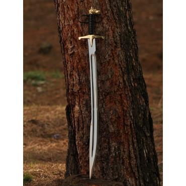 Wolf Head Turkish Sword