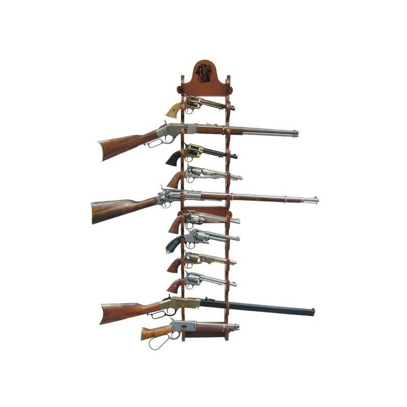 Denix 12 Layer Pistol wall rack