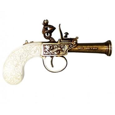 Flintlock pistol, England 1798