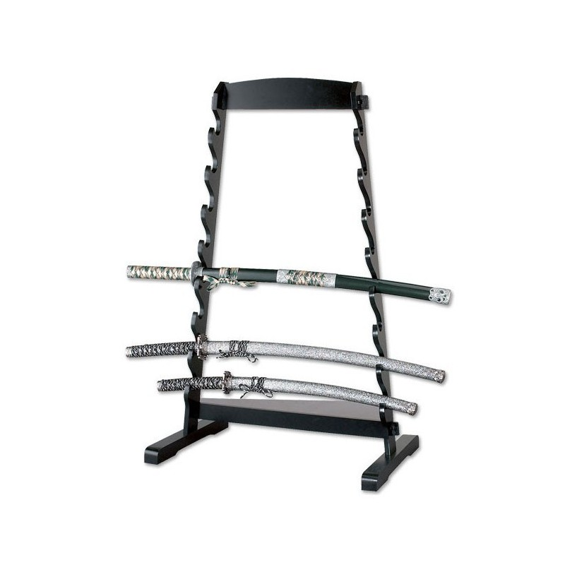 8-TIER TABLE TOP SWORD STAND