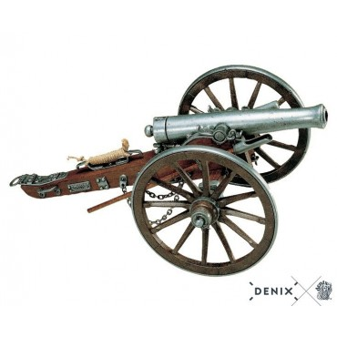 Civil War USA cannon, 1861