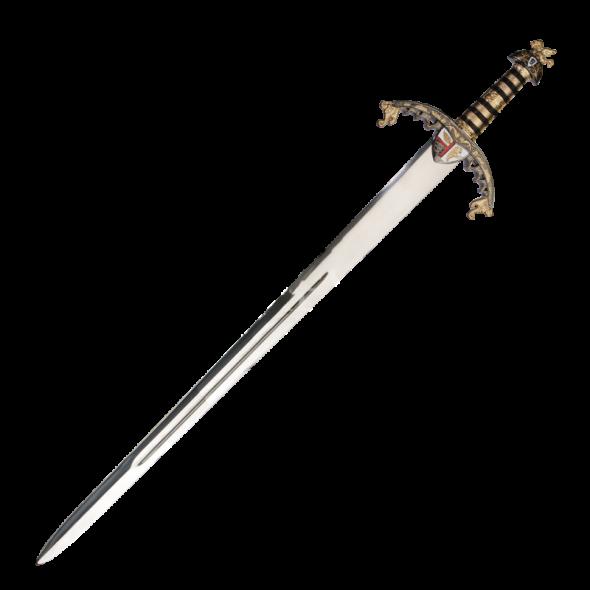 Gold Hilt Richard the Lion heart Sword