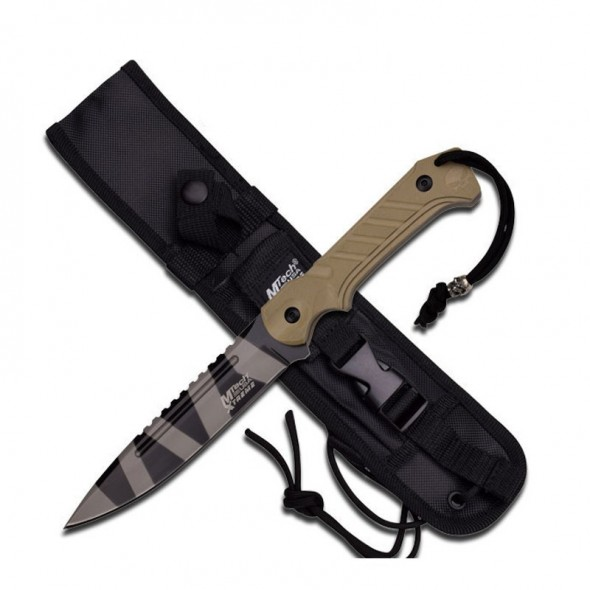 Mtech Usa Xtreme MX-8121TNC Tactical Fixed Blade