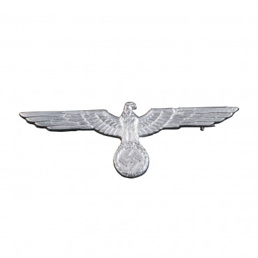 German WWII Army Heer Silver Eagle Badge