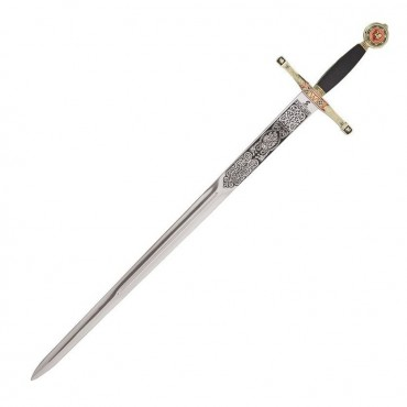 Excalibur Gold Sword