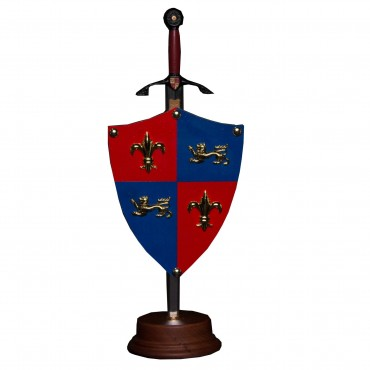 The Black Prince Mini Shield