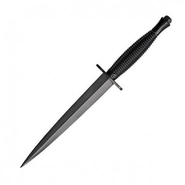 Sheffield Commando Dagger - Black Carbon Steel