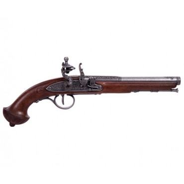 Flintlock Pistol, 18th Century