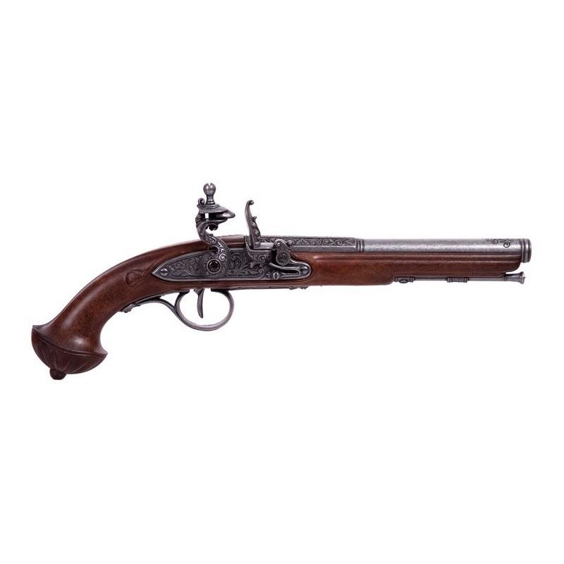 Flintlock Pistol, 18th Century