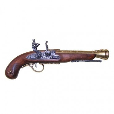 18th Century Flintlock Pirate Pistol