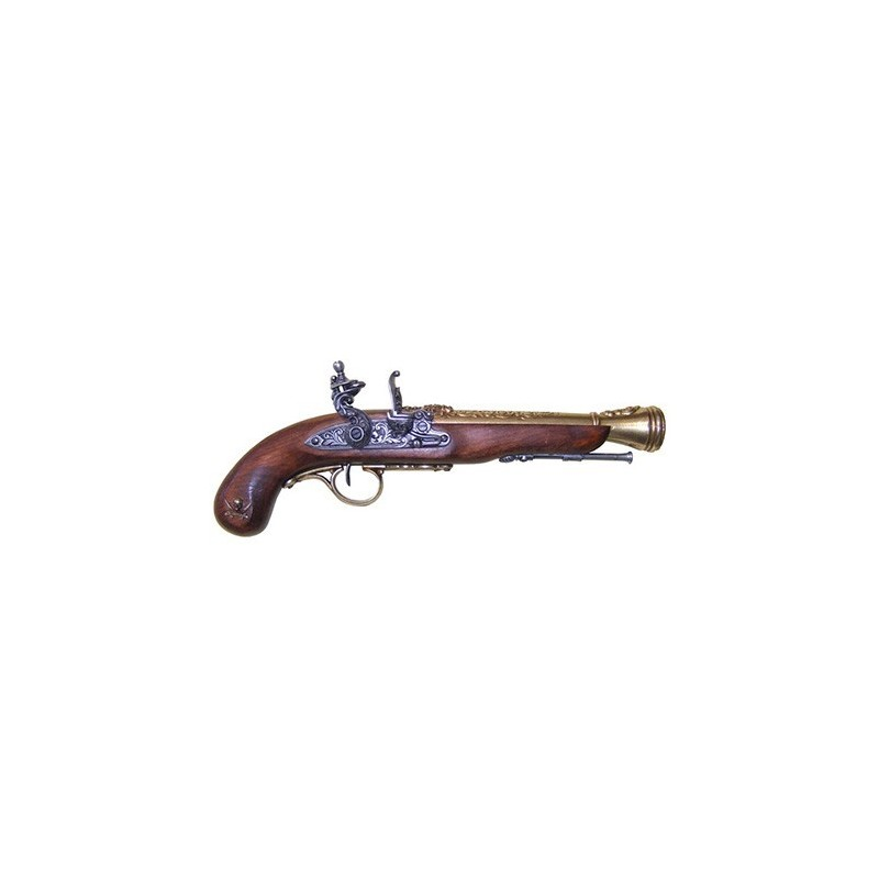 18th Century Flintlock Pirate Pistol