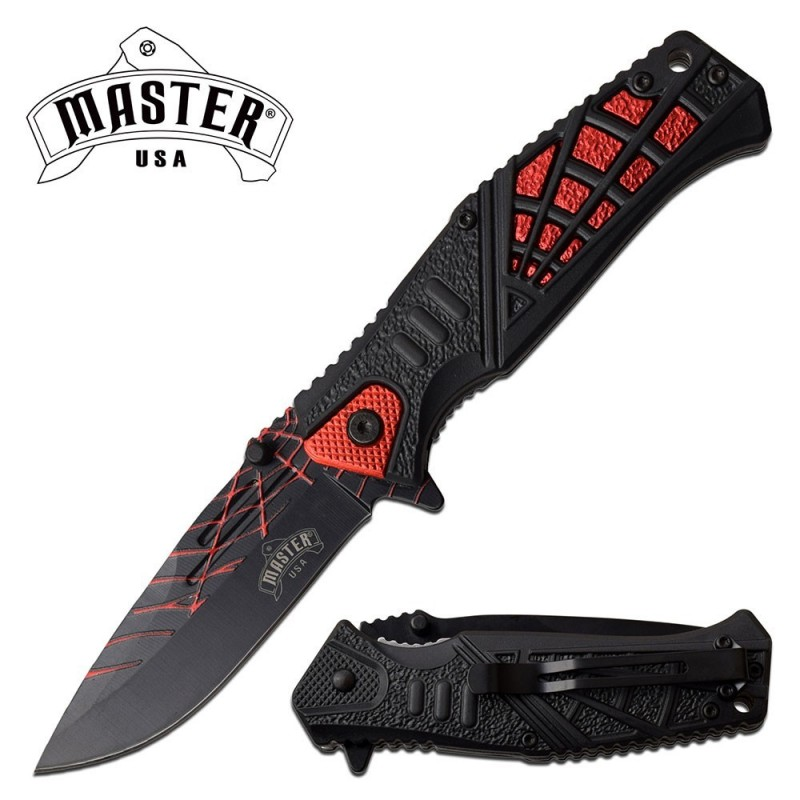 MASTER USA MU-A087RD Folding Knife