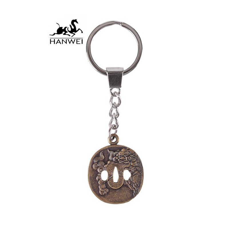 Lion Dog Key Ring by HANWEI