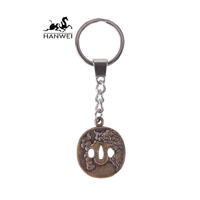 Lion Dog Key Ring by HANWEI