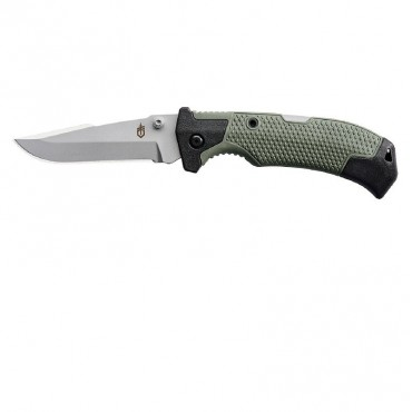 GERBER Edict Folder 3.75 in Blade Green GFN Handle