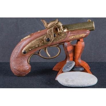 Denix Percussion Philadelphia Deringer Pistol Gold, USA 1862