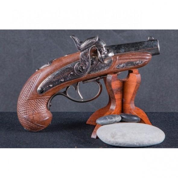 Denix Percussion Philadelphia Deringer Pistol Brown, USA 1862