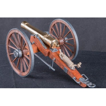 Denix Civil War Cannon Gold, USA 1857
