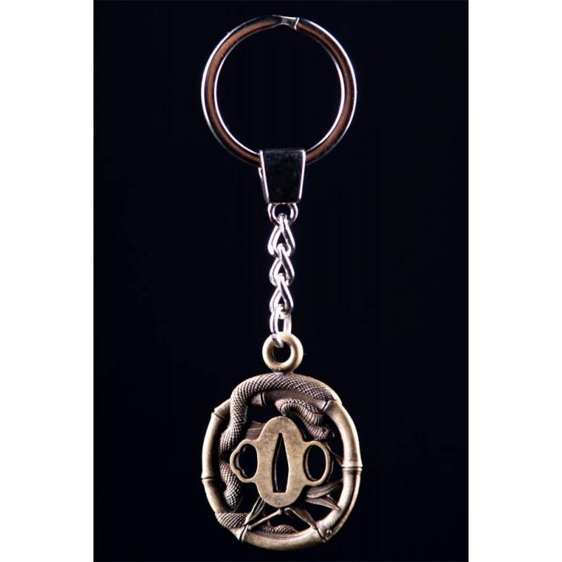 Hanwei Snake Tsuba Key Ring