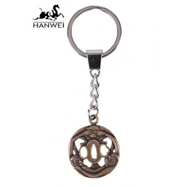 Hanwei Three Monkey Tsuba Key Ring