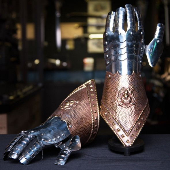 Embossed Gauntlets from Spain