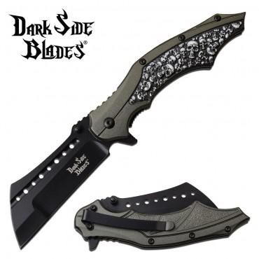DARK SIDE BLADES DS-A079GY Folding Knife