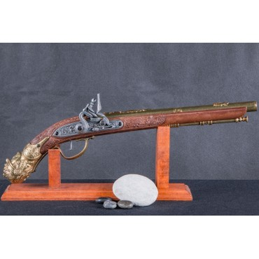 Flintlock Pistol, Germany 17th. C.