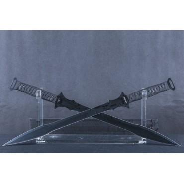 Black Legion Dark Gladiator Twin Sword Set with Sheath