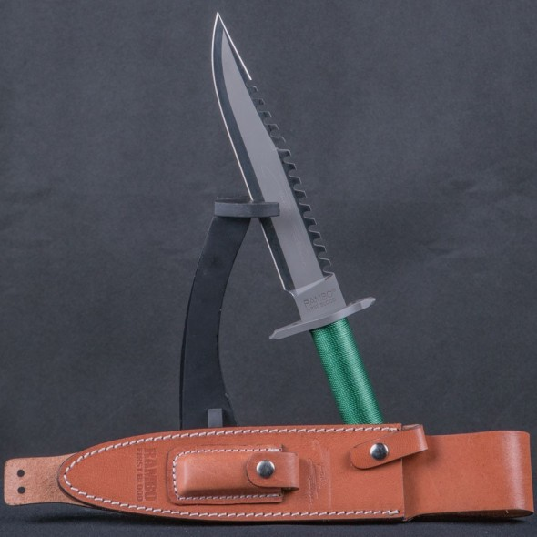 Rambo I First Blood Knife - Limited Stallone Signature Edition