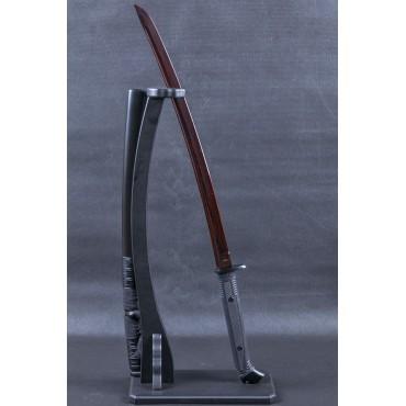 Honshu Boshin Hellfire Damascus Wakizashi Sword