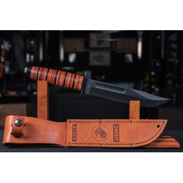 Ka-Bar USMC 7 Inch Straight Edge Fighting Knife
