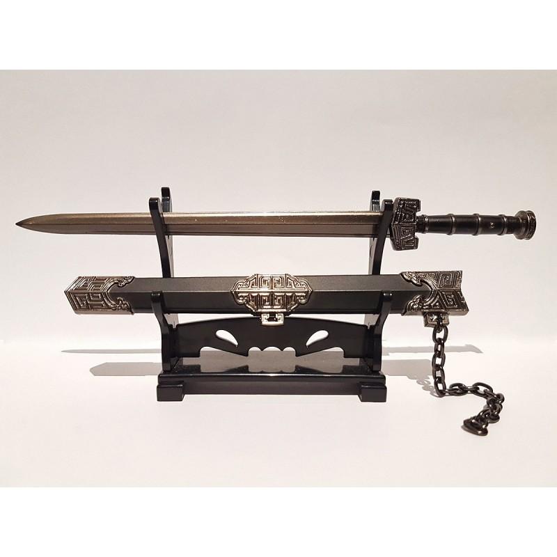 Miniature Qin Shi Huang Sword Bronze