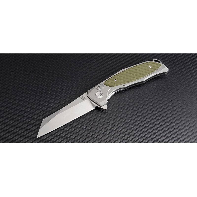 Artisan Megahawk Folder Aluminium Green