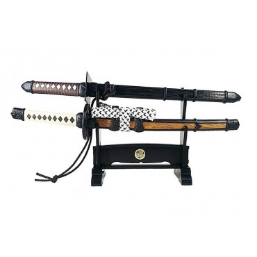 Ninjya-Tou set with Black Jin-Dachi